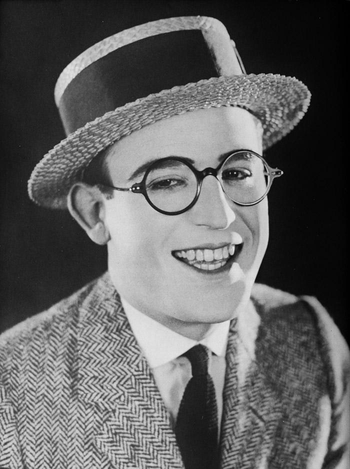 Harold Lloyd actores cine mudo