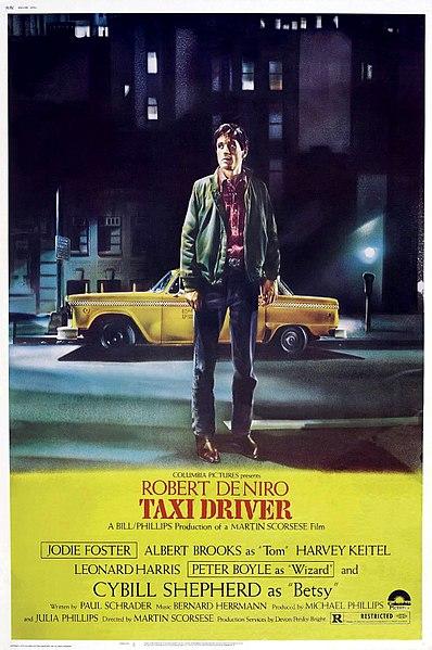 Taxi driver cine negro