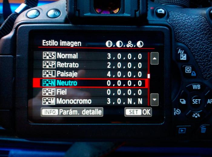 configurar dslr para video