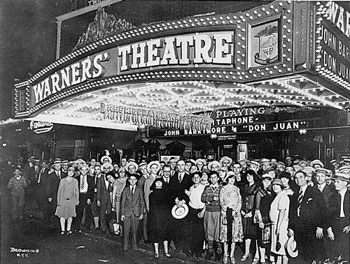 inicios del cine Don Juan