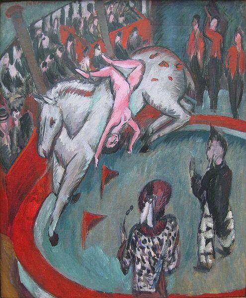 pintura del expresionismo alemán