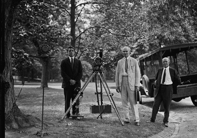 Lee de forest con el phonofilm