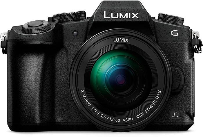 cámara de vídeo Lumix g80