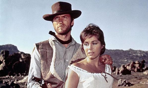 spaguetti western trilogia dolar