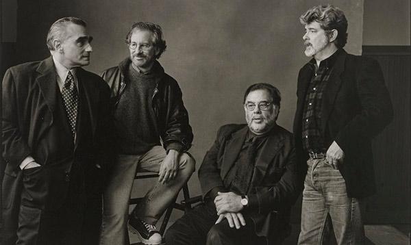 Scorsese, Coppola, Spielberg y George Lucas