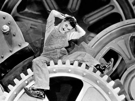 tiempos modernos Chaplin