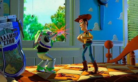 toy story técnica de animación